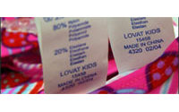 Textiles chinois : la pression augmente sur Bruxelles