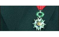 Légion d'honneur du 14 juillet : Valentino, O.Lapidus, S.Toledano et E.Cochet