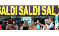 Mauvais cru pour les soldes d'été en Italie