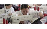 Crise du textile chinois : les commandes de l'industrie européenne chutent