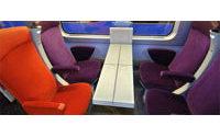 La SNCF rénove ses TGV aux couleurs prune et pomme de Christian Lacroix