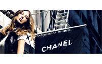 Une boutique Chanel à Moscou cet été