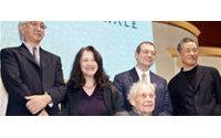 Issey Miyake et Merce Cunningham, deux des cinq prix Praemium Imperiale 2005