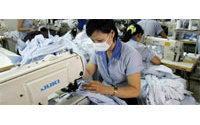 Las importaciones de textiles chinos aumentaron en Brasil un 56 por ciento