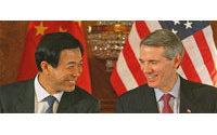 Réunion à Londres entre ministres chinois et américain du Commerce