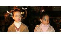 Valeria Attinelli au nouvel espace enfants du Printemps Haussmann