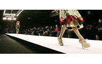Semaine de la mode de Londres : l'Indien Arora ose la couleur