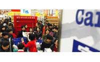 Carrefour veut ouvrir une vingtaine de magasins par an en Chine