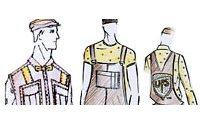 Anne Valérie Hash, Michel Klein et Pierre-Henri Mattout revisitent l'uniforme UPS