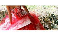 La créatrice Louise Piquant mène le bal avec une robe unique