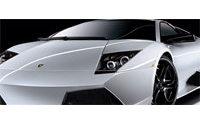 Versace et Lamborghini dévoilent une voiture d'exception