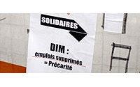 """Les salariés de Dim sont """"lâchés"""" par le gouvernement (élus PS de Bourgogne)"""