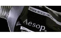 Aesop inaugure sa première boutique européenne à Paris