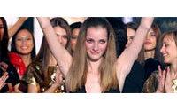 Une jeune Tchèque remporte le concours Elite Model Look 2006
