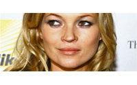 Le mannequin Kate Moss se livre à quelques confidences