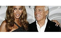 Armani choisit Beyoncé pour sa nouvelle senteur
