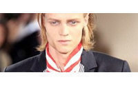 It's Dada and Monsieur Butterfly at Paris men's fashion show