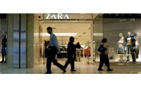 Zara poursuit son expansion dans une Chine assoiffée de mode