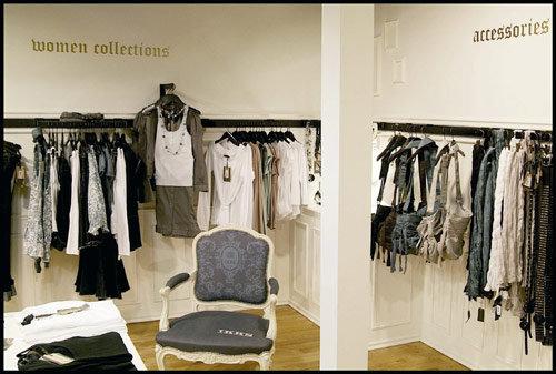 ikks s offre une boutique sur les champs lys es actualit distribution 20585. Black Bedroom Furniture Sets. Home Design Ideas