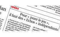 Rachat des Echos par LVMH : lettre ouverte des journalistes au Medef