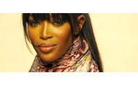 Naomi Campbell sports bikini to launch Milan shows