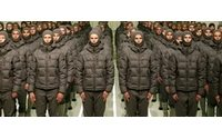 Valli con Moncler per Gamme Rouge