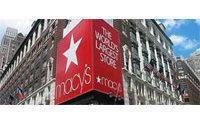 Les grands magasins Macy's vont supprimer 2 300 emplois