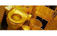 Golden toilet leaves Hong Kong jeweller flush with cash