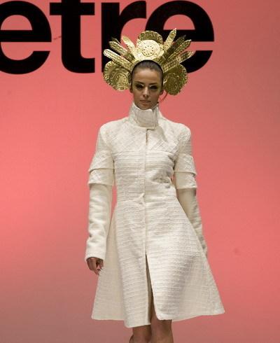 模特展示服装设计