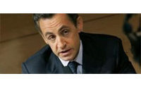 YSL first to make haute couture into art: Sarkozy