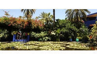 Friends scatter YSL ashes in his Marrakech garden
