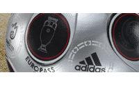 Le foot dope les ventes d'Adidas