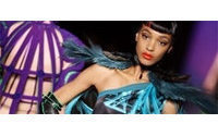 Gaultier snares his exotic birds in cages
