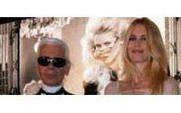 Lagerfeld und Schiffer herzen sich beim «Elle Fashion Star»
