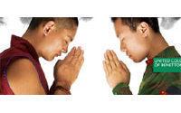 Benetton met face à face un moine tibétain et un soldat chinois