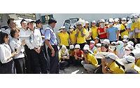 Vietnam :  10 000 ouvriers d'un sous-traitant d'Adidas en grève pendant cinq jours
