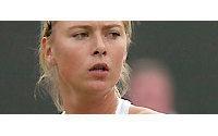 Tennis-Sharapova dons white tuxedo top for Wimbledon