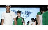 French fashion house Lacoste presents spring collection