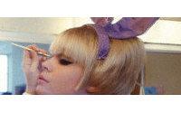 На Нью-Йоркской Неделе моды бренд Miss Sixty предпочел макияж в стиле Playboy