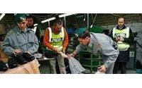 La Spezia, sequestrate 10mila paia di scarpe contraffatte