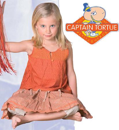vêtements capitaine tortue