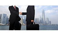 HK shares jump 4 pct; Esprit drops on weak outlook