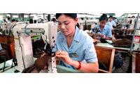 纺织业增速下降 行业困难进一步加剧