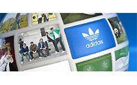 Adidas scraps 2009 forecasts, shares drop
