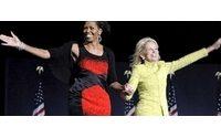 Michelle più emozionata di Barack