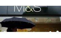 M&S's sales trend improves, sees tough 2010