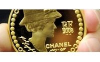 Karl Lagerfeld diseña una moneda de oro con la imagen de Coco Chanel