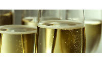 Champagne makers hope for end of year sales bubble