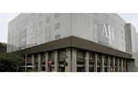 Début des travaux de l'hôtel Armani de Milan