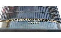 Nuevo hotel gran lujo Eurostars Madrid Tower se inaugura en la Torre Sacyr